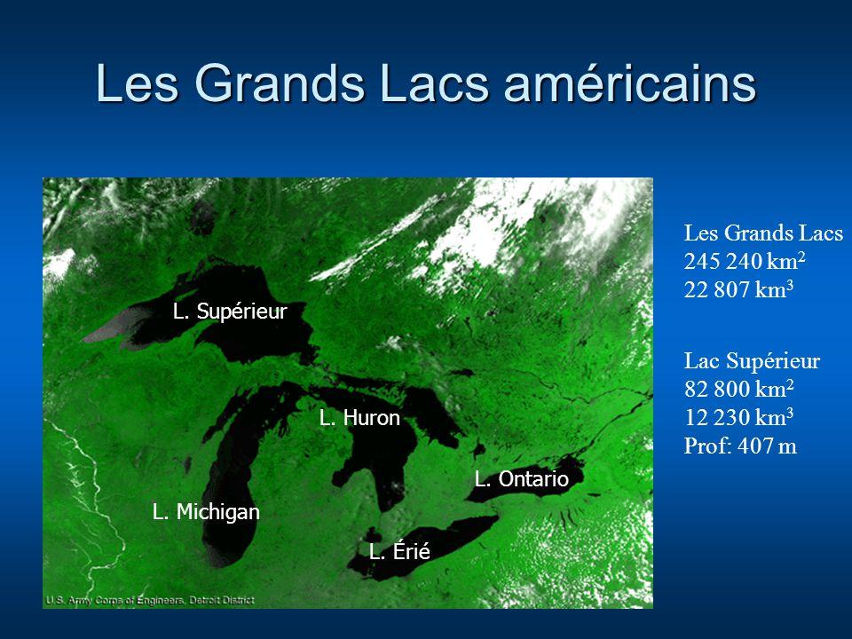 Les Grands Lacs américains