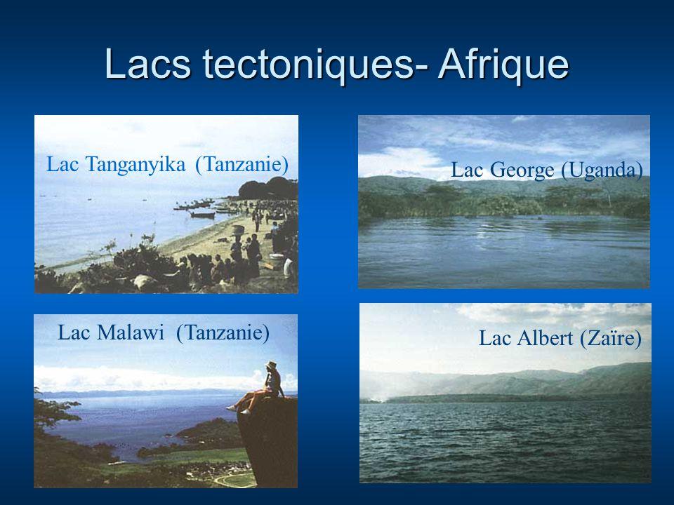 Lacs tectoniques- Afrique