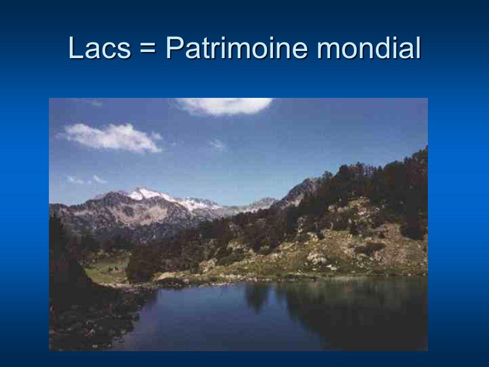 Lacs = Patrimoine mondial