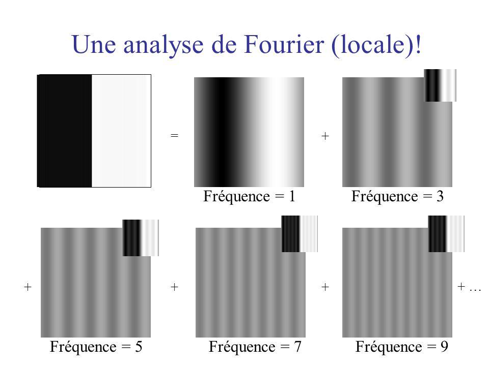 Une analyse de Fourier (locale)!