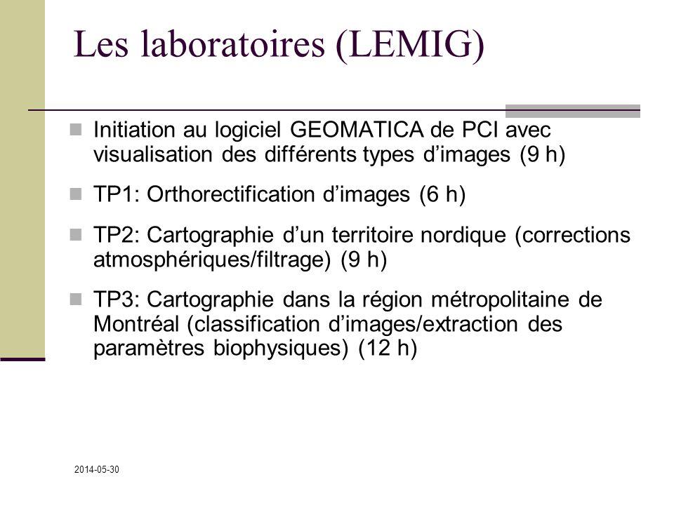 Les laboratoires (LEMIG)