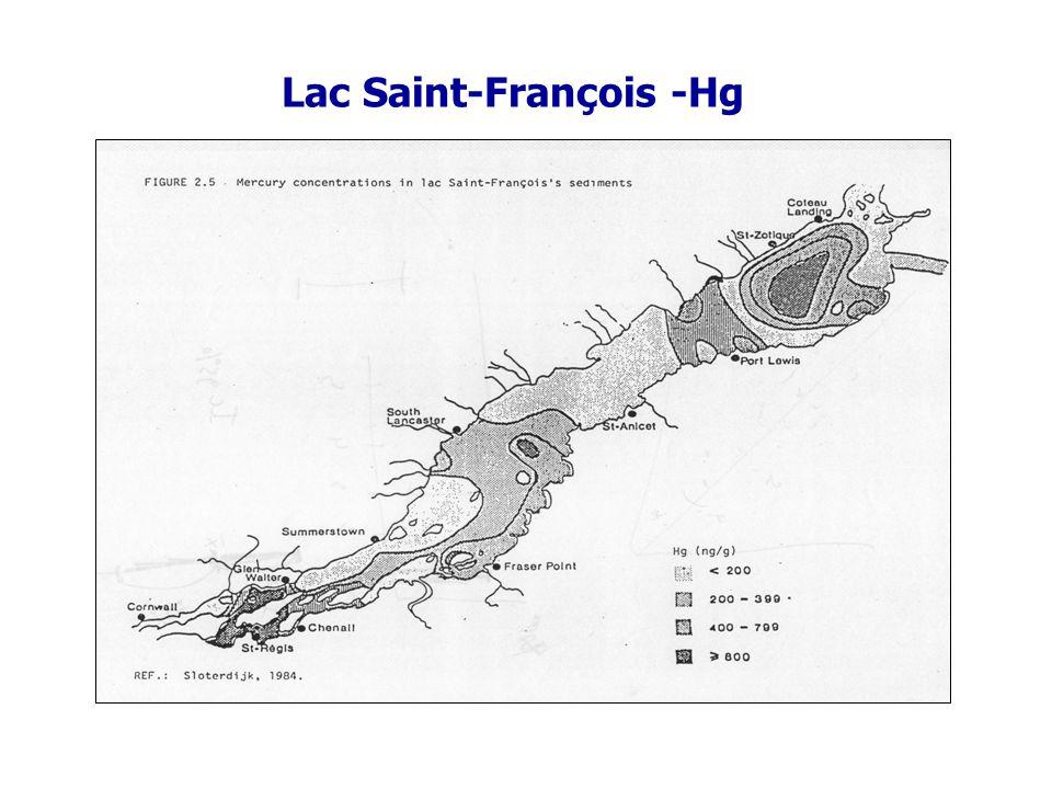Lac Saint-François -Hg