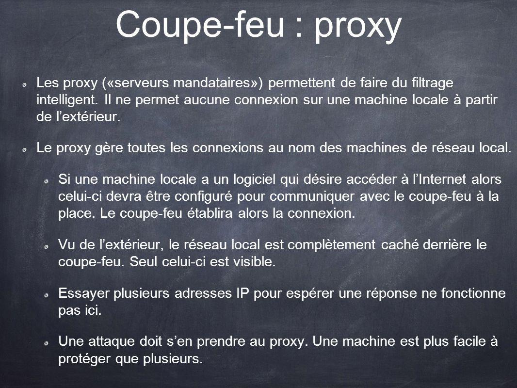Coupe-feu : proxy