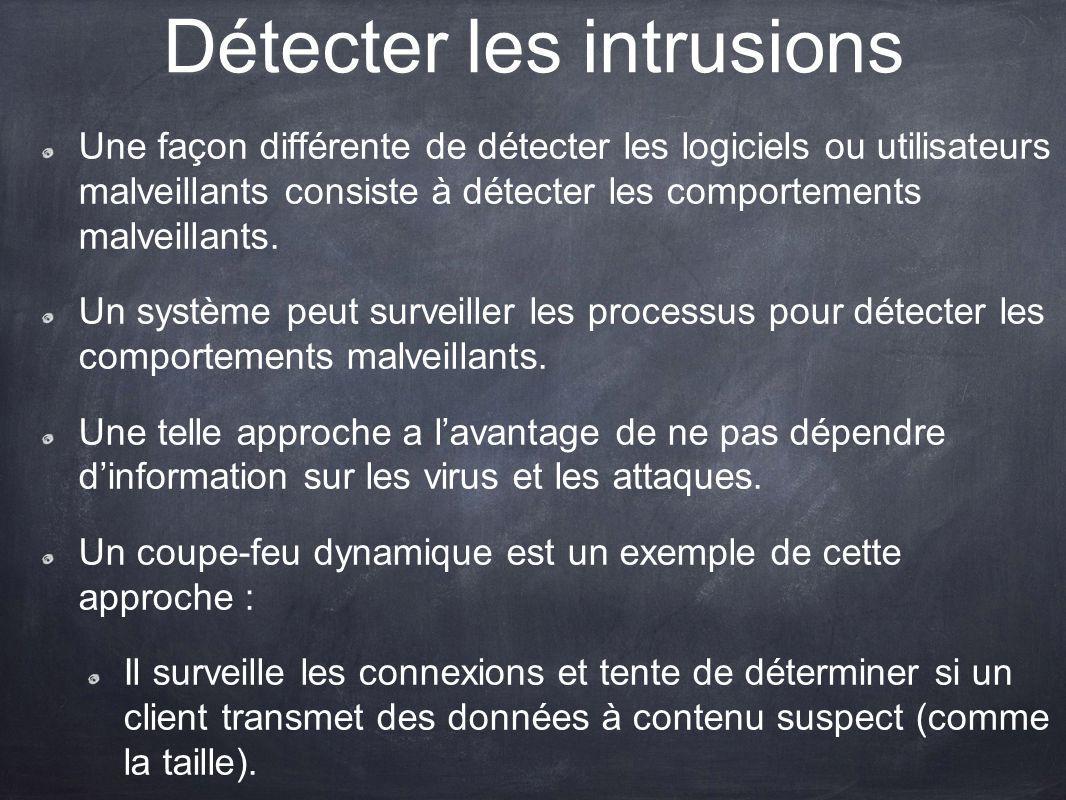 Détecter les intrusions