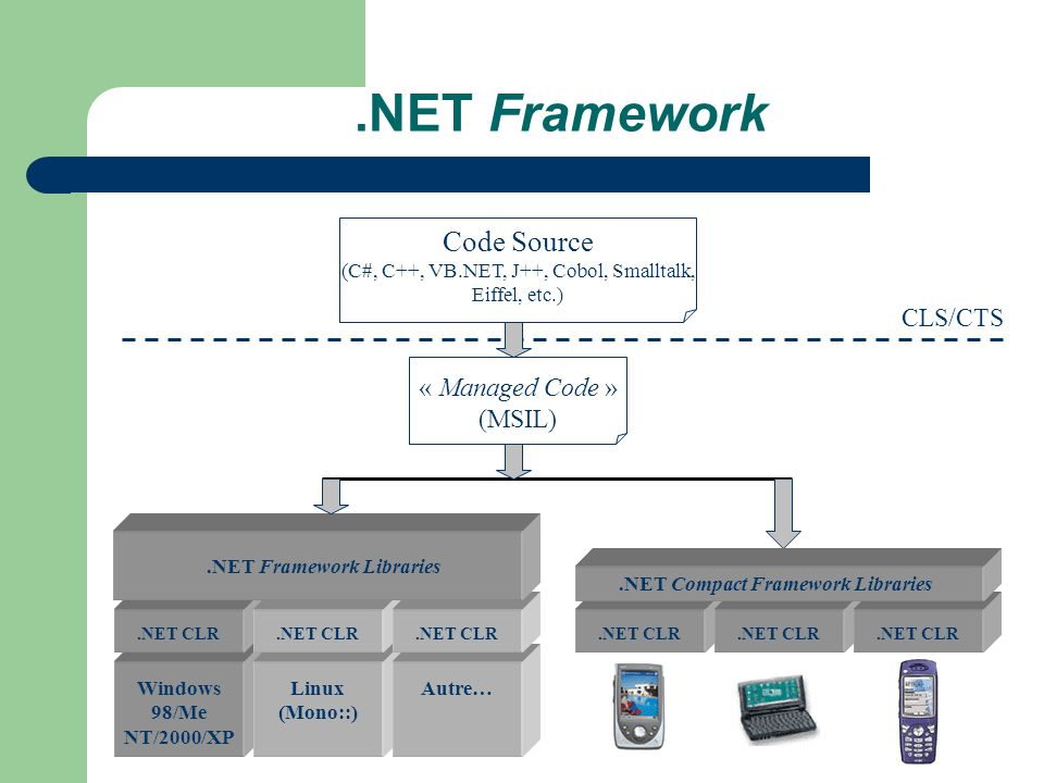 .NET Framework Libraries .NET Compact Framework Libraries