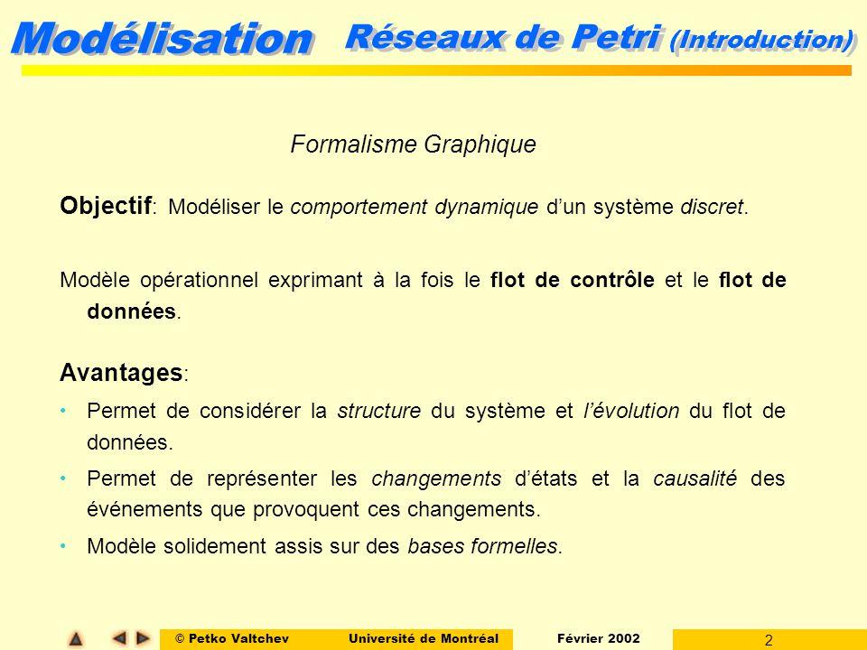 Réseaux de Petri (Introduction)