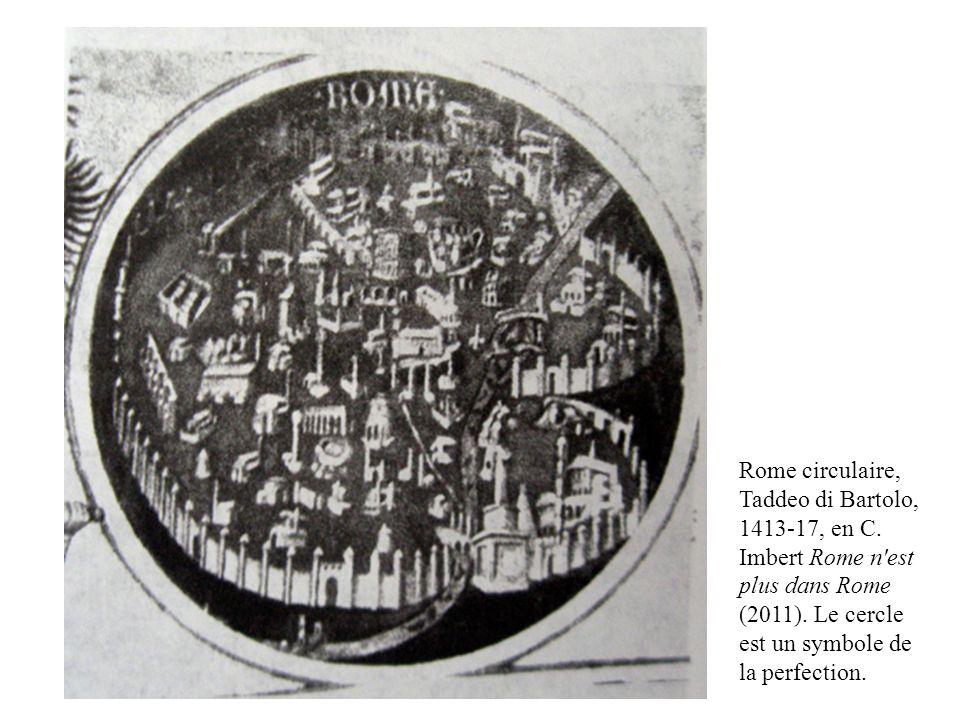 Rome circulaire, Taddeo di Bartolo, 1413-17, en C