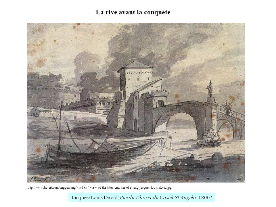 La rive avant la conquête