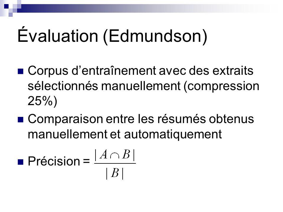 Évaluation (Edmundson)