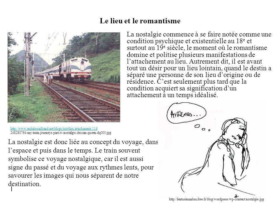 Le lieu et le romantisme
