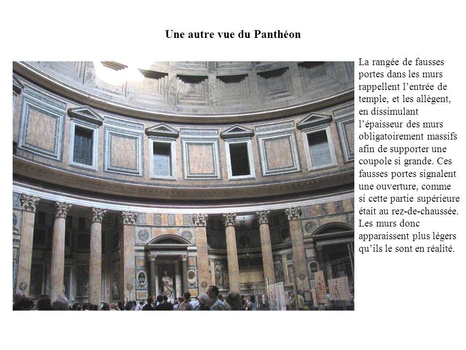 Une autre vue du Panthéon