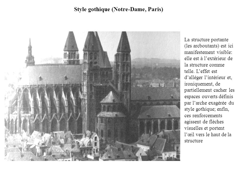 Style gothique (Notre-Dame, Paris)