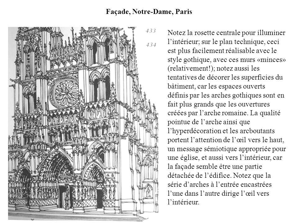 Façade, Notre-Dame, Paris