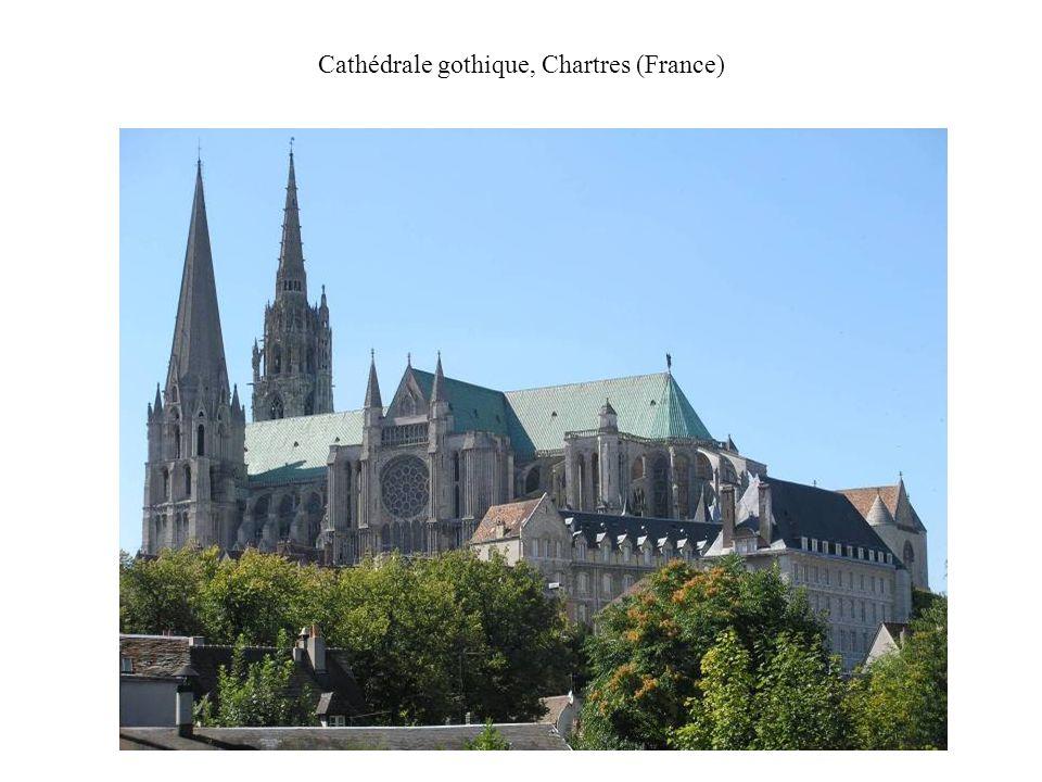 Cathédrale gothique, Chartres (France)