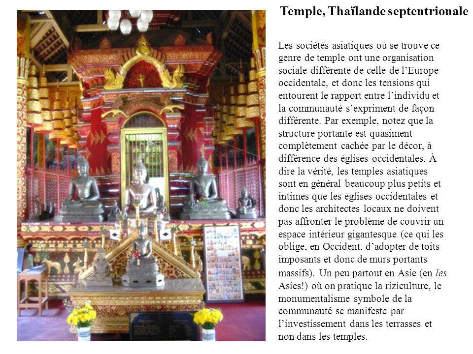 Temple, Thaïlande septentrionale