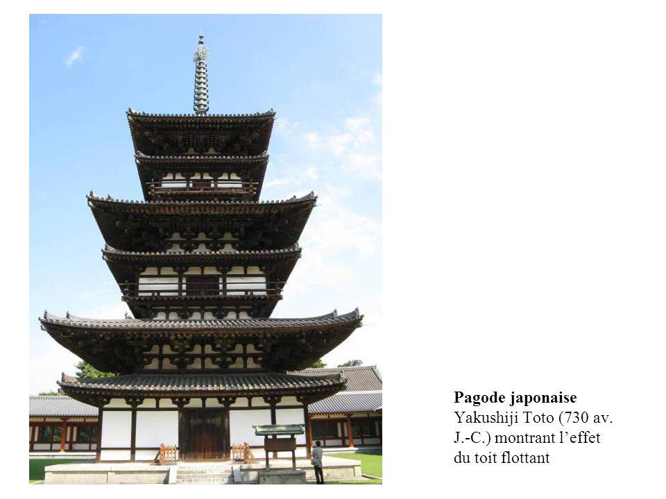 Pagode japonaise Yakushiji Toto (730 av. J. -C