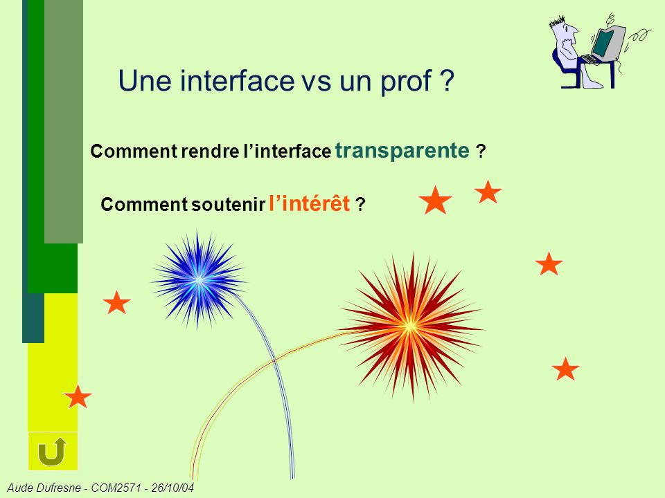 Une interface vs un prof