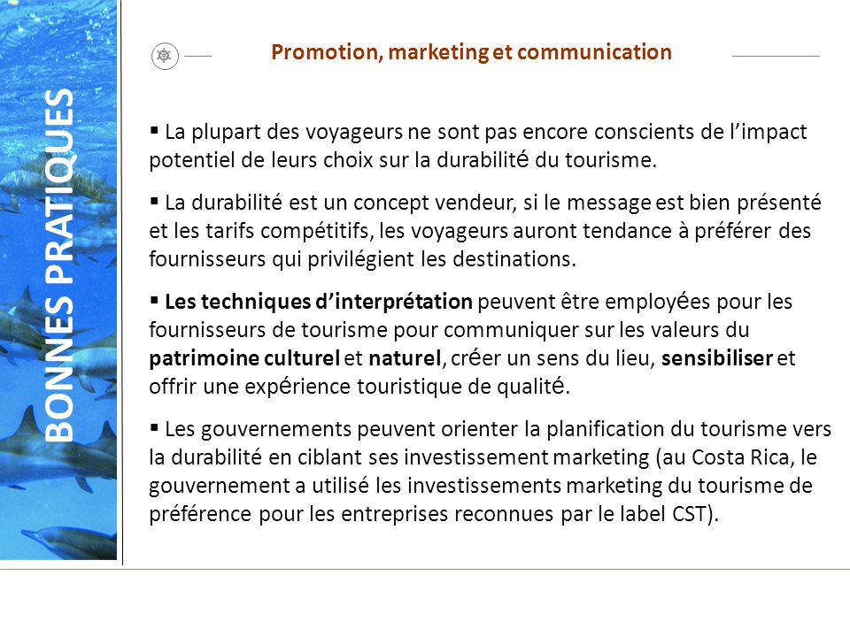 Promotion, marketing et communication