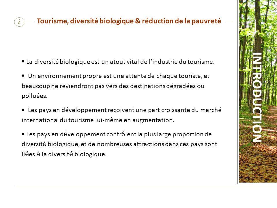 Tourisme, diversité biologique & réduction de la pauvreté