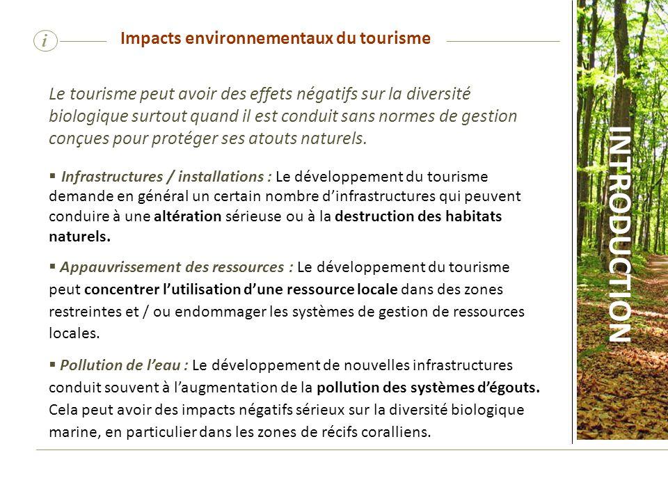 Impacts environnementaux du tourisme