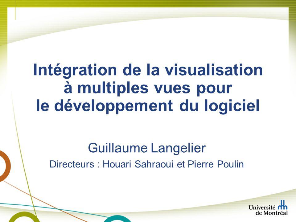 Guillaume Langelier Directeurs : Houari Sahraoui et Pierre Poulin