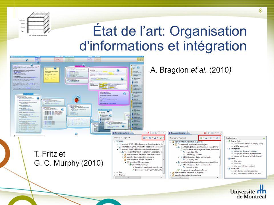 État de l'art: Organisation d informations et intégration