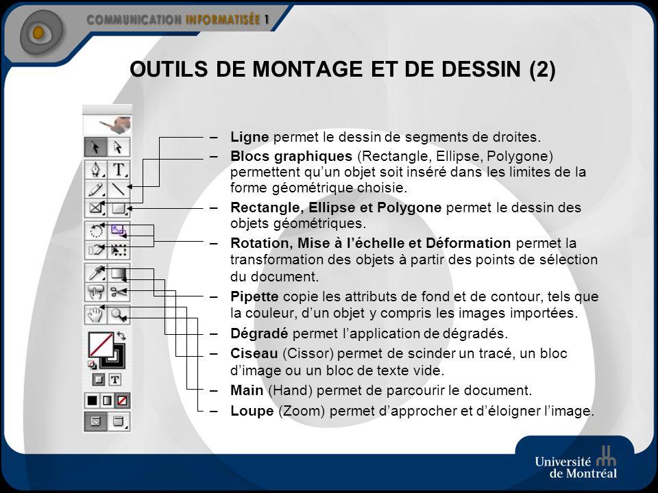 OUTILS DE MONTAGE ET DE DESSIN (2)
