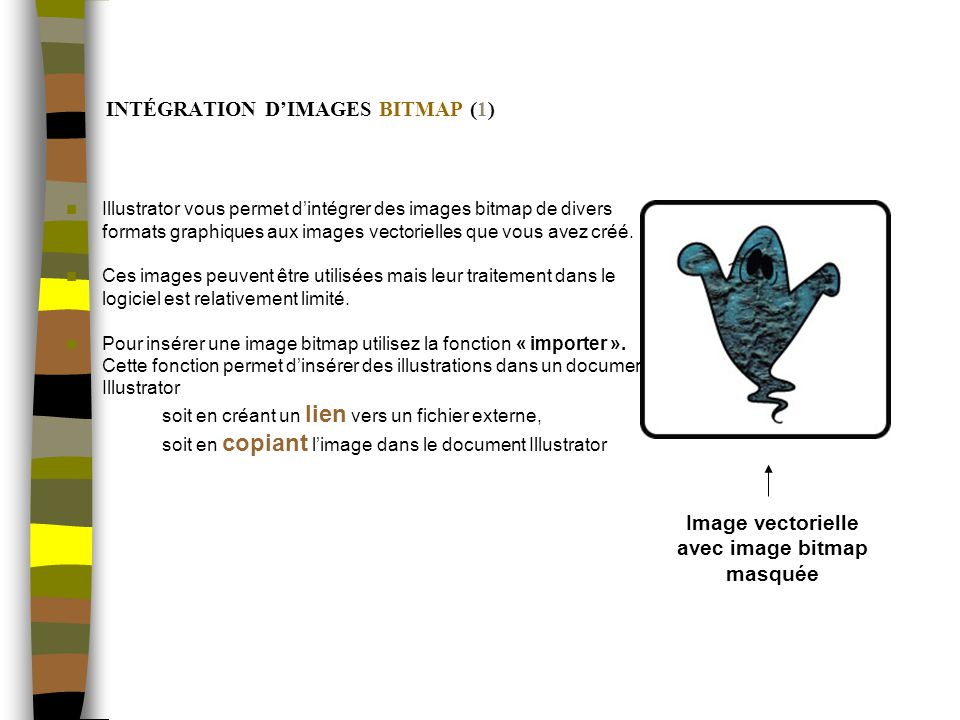 INTÉGRATION D'IMAGES BITMAP (1)