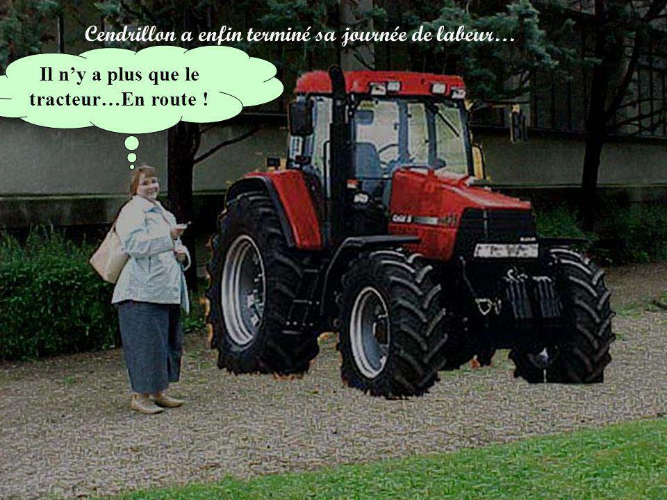 Il n'y a plus que le tracteur…En route !