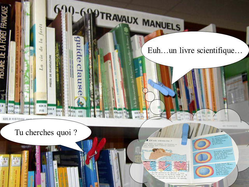 Euh…un livre scientifique…
