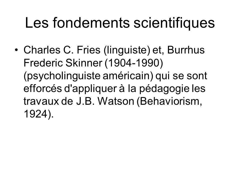 Les fondements scientifiques