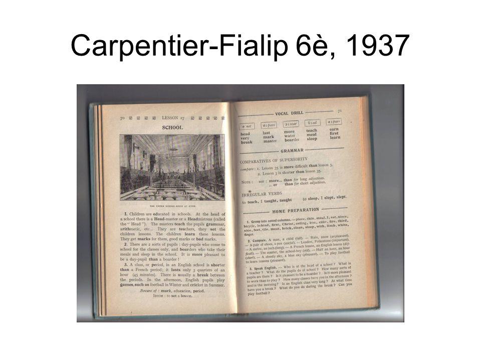 Carpentier-Fialip 6è, 1937