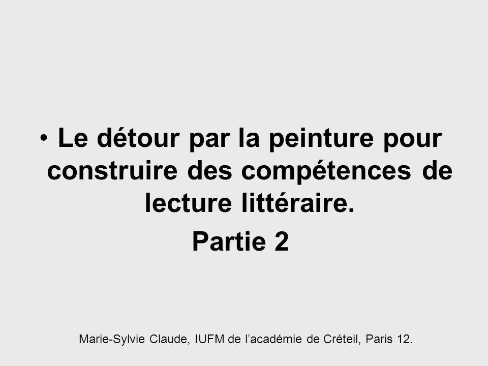 Marie-Sylvie Claude, IUFM de l'académie de Créteil, Paris 12.