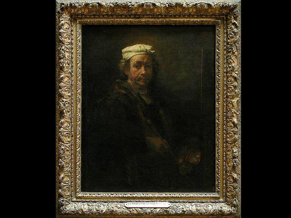 Rembrandt autoportrait à la palette 1660