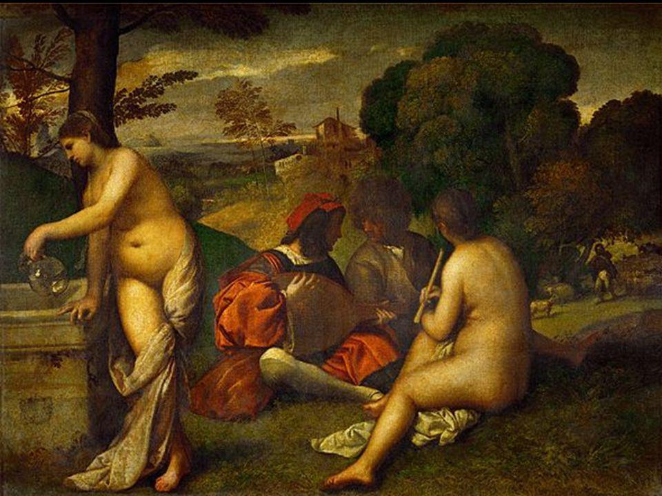 Titien le concert champêtre 1538