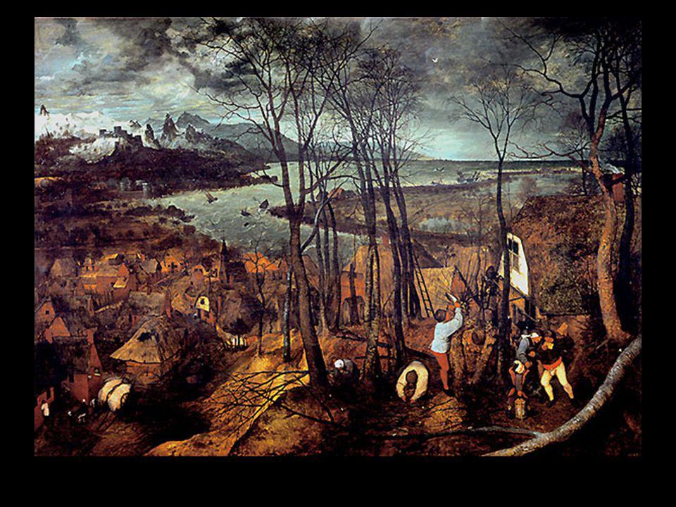 Bruegel journée sombre premier printemps
