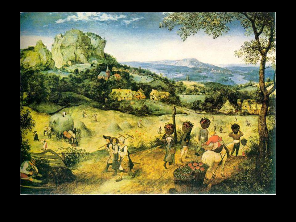 Bruegel la fenaison début d'été