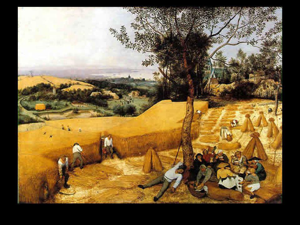 Bruegel la moisson début d'automne