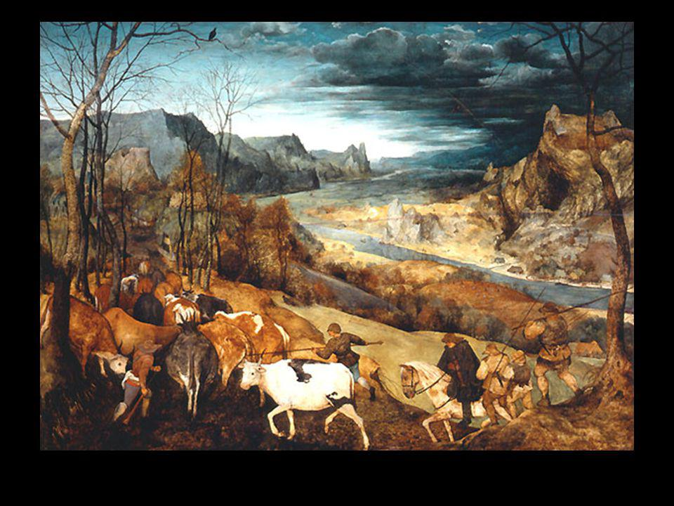 Bruegel le retour du troupeau automne