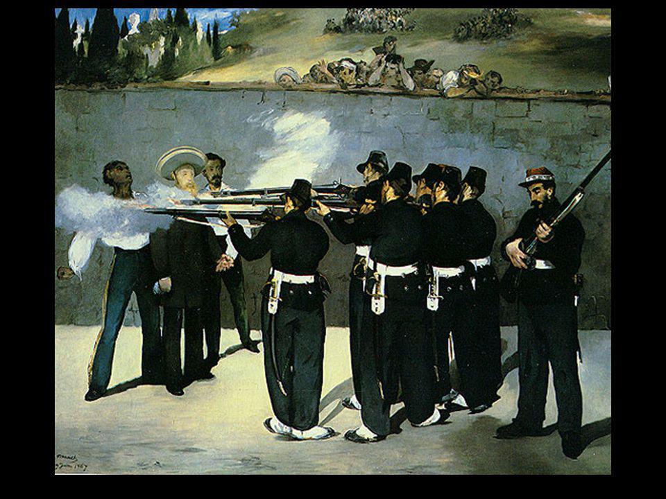 Manet l'exécution de Maximilien