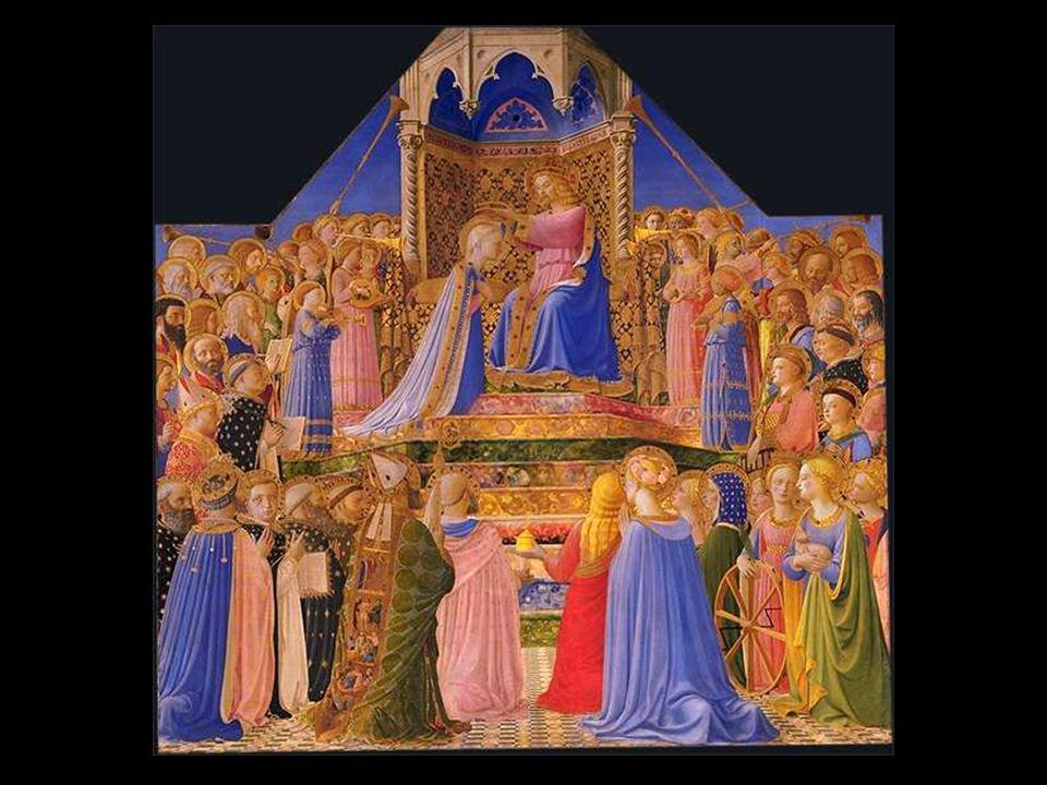 Fra Angelico le couronnement de la Vierge