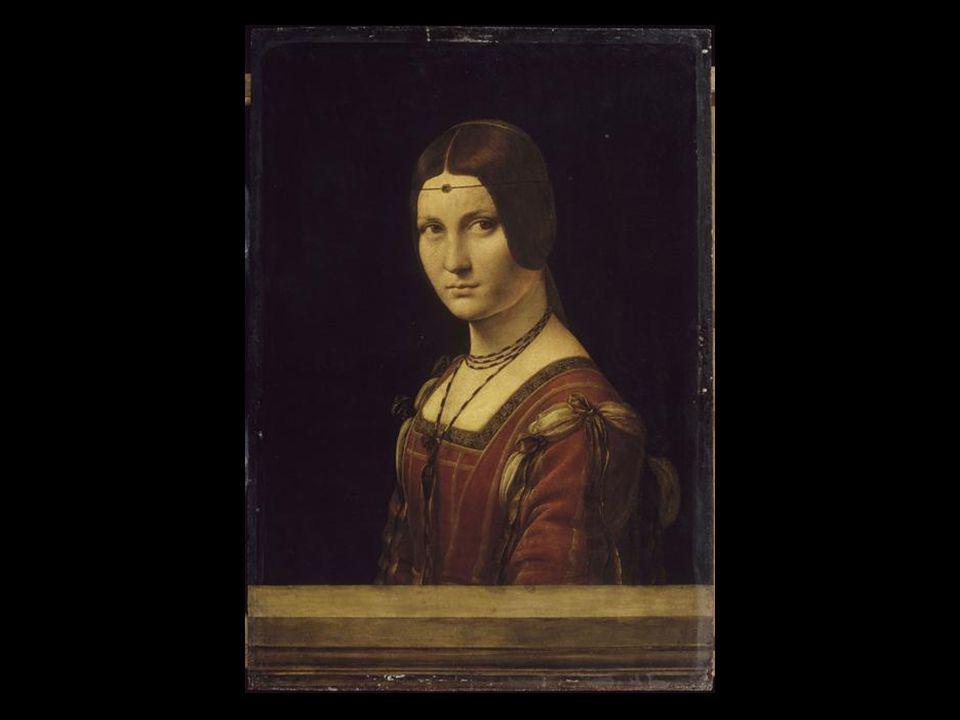 La belle ferronnière Leonard de Vinci