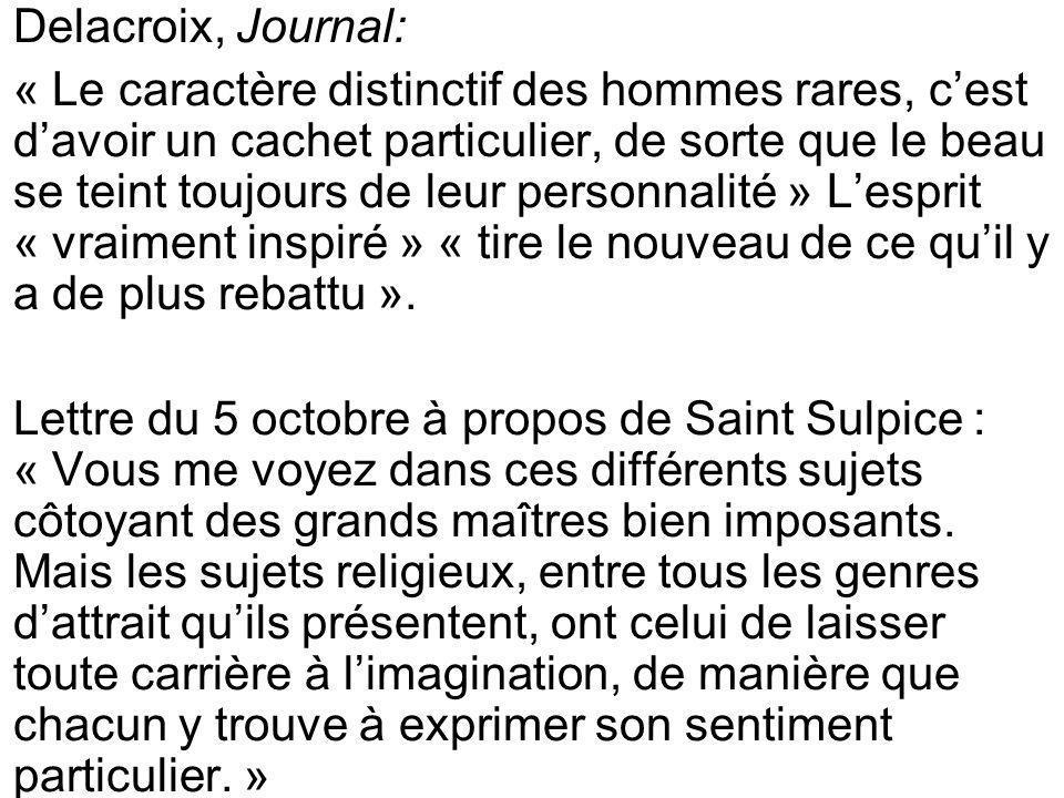 Delacroix, Journal:
