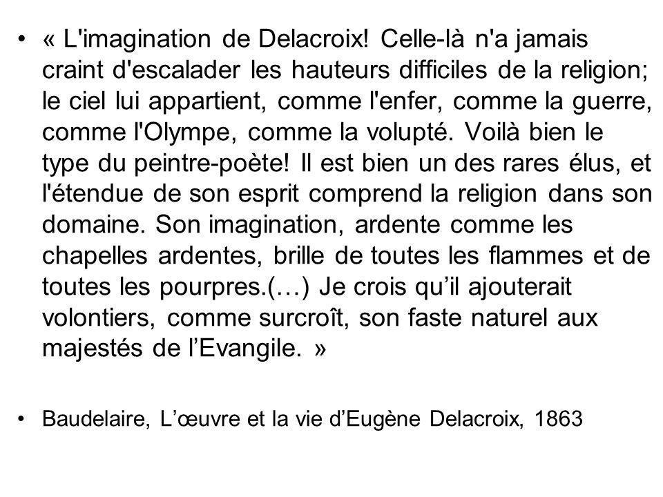 « L imagination de Delacroix