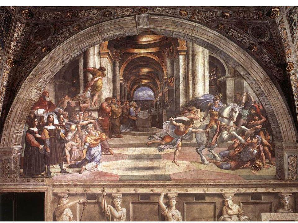 Raphael, Chambre Vaticane d'Héliodore