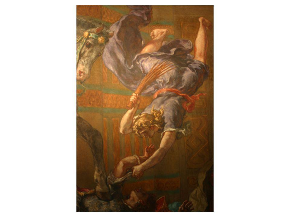 Héliodore chassé du temple détail