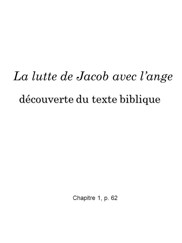 La lutte de Jacob avec l'ange