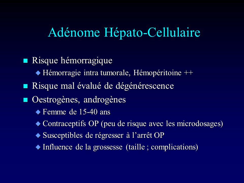 Adénome Hépato-Cellulaire