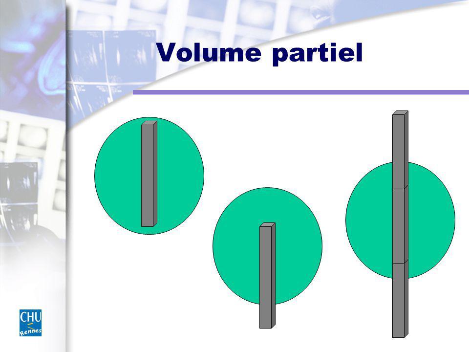 Volume partiel