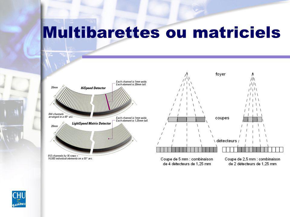 Multibarettes ou matriciels